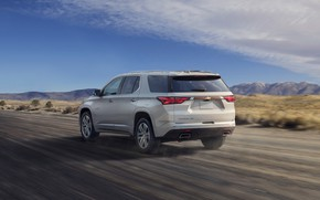 Picture speed, Chevrolet, SUV, High Country, Traverse, 2021