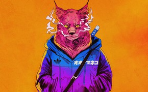 Picture Smoke, Cat, Style, Sword, Face, Adidas, Fantasy, Jacket, Art, Art, Style, Adidas, Fiction, Cat, Fiction, …