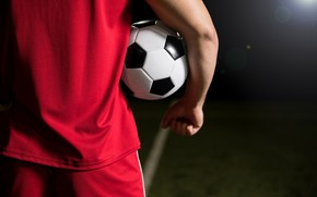 Picture football, men, ball