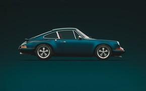 Picture Minimalism, 911, Porsche, Machine, Car, Sports car, Side view, Singer, Transport & Vehicles, Porsche 911 …