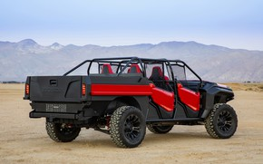 Picture Honda, 2018, Rugged Open Air Vehicle Concept, outdoor car