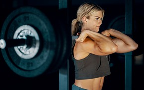 Picture muscle, muscle, rod, training, athlete, workout, workout, training, abs, crossfit, CrossFit, Crossfit, Brooke Enns, Brooke …