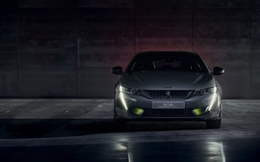 Picture Concept, Peugeot, front view, 508, 2019, Sport Engineered