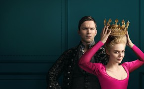 Picture girl, crown, the series, guy, The Great, 2020