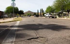Picture road, machine, the city, street, AZ, Arizona, Tucson Street, Safford