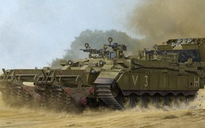 Picture Israel, Puma, BTR, Vincent Wai, Israel Defense Forces, crawler, engineering machine, clearance machine, Israeli heavy …
