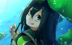 Picture sheet, lake, frog, My Hero Academia, Boku No Hero Academy, My heroic academia, The Tsui …
