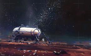 Picture Space, Astronaut, Astronaut, Art, Concept Art, Sci-fi, Astronaut, John Wallin Liberto, Astroneer, by John Wallin …