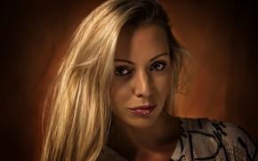 Picture look, girl, blonde, beautiful, Kide Fotoart