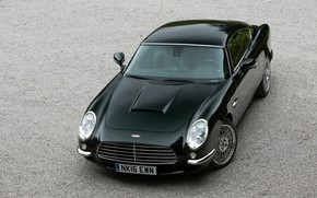 Picture coupe, the hood, before, Jaguar XKR, 2014, V8, two-door, David Brown Automotive, Speedback GT