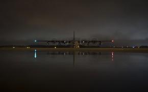 Picture The plane, USAF, C-130 Hercules, C-130, Military transport, HC-130J Combat King II