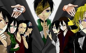 Picture characters, Durarara, Durarara