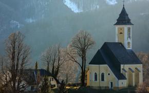 Picture mountains, Austria, chapel