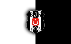 Picture wallpaper, sport, logo, football, Besiktas JK