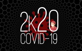 Picture virus, 2020, pandemic, coronavirus, COVID-19