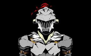 Picture armor, helmet, guy, knight, Goblin Slayer, The killer of goblins