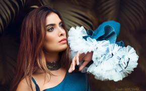 Picture look, girl, face, pose, photo, model, portrait, makeup, beauty, Mercedes Castillo Sаnchez