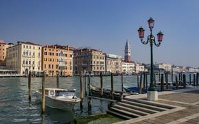 Picture pier, Italy, lantern, Venice