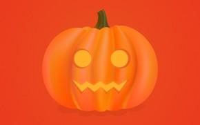Picture pumpkin, Halloween, halloween