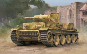 Picture Prototype, Heavy tank, The Wehrmacht, Panzerwaffe, VK 36.01 (H), VK3601