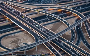 Picture Dubai, Highway, Highway, Crossing, Trade 345, Dubai
