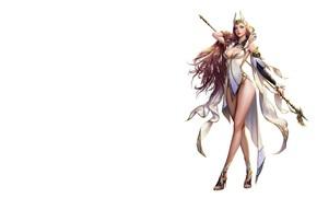 Picture the game, fantasy, art, character, Elementalist, costume design, jungmin jin /dospi