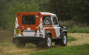 Picture dust, Land Rover, Defender, 2013, 2014, Challenge, Bowler