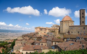 Picture home, Italy, Tuscany, Volterra