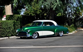 Picture Green, Bel Air, Chevy, Old
