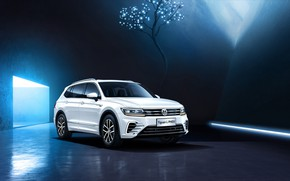 Picture Volkswagen, 2018, crossover, Tiguan, THE PHEV