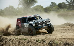 Picture sand, Ford, dust, rally, 2019, Bronco R Race Prototype