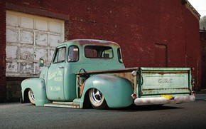 Picture Car, Truck, Pickup, Low, Gmc