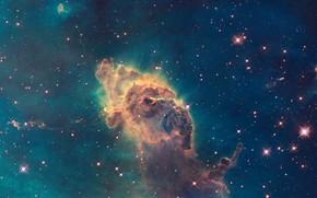 Picture Hubble, Nebula, The Milky Way, Carina Nebula