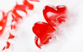 Picture love, tape, heart, feathers, love, heart