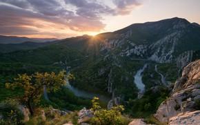 Picture Nature, Landscape, Dawn, Morning, Bulgaria