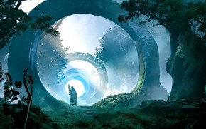 Picture Trees, The gates, Portals