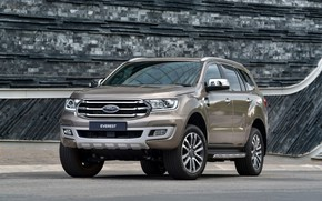 Picture Ford, Everest, Limited, 4WD, midsize, 2019