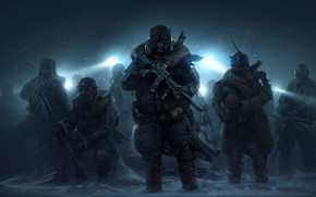 Picture snow, weapons, the game, game, RPG, Wasteland, Heath, Wasteland 3, Wasteland 3