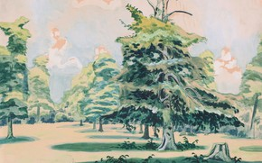 Picture 1920, Untitled, Charles Ephraim Burchfield, possibly Green Grove