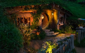 Picture New Zealand, Matamata, Matamata, Hobbit House