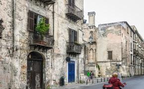 Picture Street, Italy, Building, Italy, Street, Italia, Palermo, Palermo, Balconies