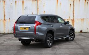 Picture Mitsubishi, rear view, Pajero, 2018, Sport, Shogun, Montero