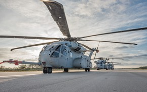 Picture Helicopter, Sikorsky, Sikorsky CH-53K King Stallion, US Marine Corps, Heavy transport helicopter