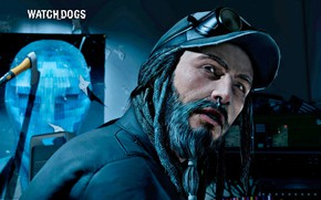 Picture guy, beard, Watch Dogs