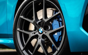 Picture wheel, BMW, Gran Coupe, UK-spec, 2-Series, M Sport, 2020, 218i, F44