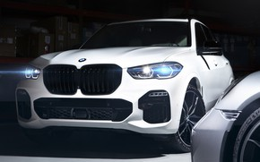 Picture BMW, Light, White, Sight, Adaptive LED, G05