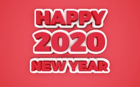 Picture background, holiday, figures, New year, New Year, 2020