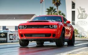 Picture Muscle, Race, Dodge Challenger, SRT, Demon
