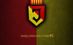 Picture wallpaper, sport, logo, football, Jagiellonia