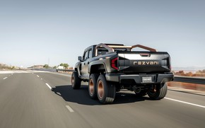 Picture road, pickup, feed, Rezvani, 2020, Hercules 6x6
